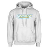 White Fleece Hoodie-Southern Jaguars