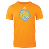 Adidas Gold Logo T Shirt-Jaguar Head