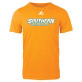 Adidas Gold Logo T Shirt-Southern Jaguars