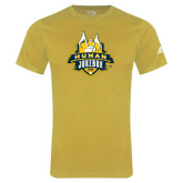 Adidas Gold Logo T Shirt-The Human Jukebox Official Mark