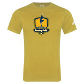 Adidas Gold Logo T Shirt-Fabulous Dancing Dolls Official Mark