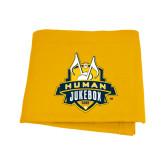 Gold Sweatshirt Blanket-The Human Jukebox Official Mark