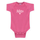 Fuchsia Infant Onesie-Future Dancing Doll