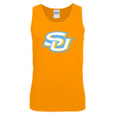 Gold Tank Top-Interlocking SU