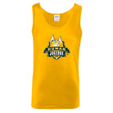 Gold Tank Top-The Human Jukebox Official Mark