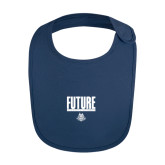 Navy Baby Bib-Future Jukebox Member