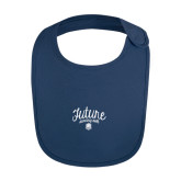 Navy Baby Bib-Future Dancing Doll