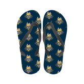 Ladies Full Color Flip Flops-The Human Jukebox Official Mark