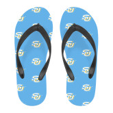Full Color Flip Flops-Interlocking SU