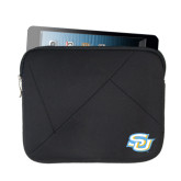 Neoprene Black Zippered Tablet Sleeve-Interlocking SU