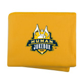 Gold Arctic Fleece Blanket-The Human Jukebox Official Mark
