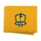 Gold Arctic Fleece Blanket-Fabulous Dancing Dolls Official Mark