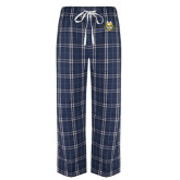 Navy/White Flannel Pajama Pant-The Human Jukebox Official Mark