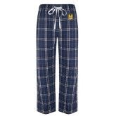 Navy/White Flannel Pajama Pant-Fabulous Dancing Dolls Official Mark