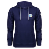 Adidas Climawarm Navy Team Issue Hoodie-Interlocking SU