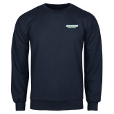 Navy Fleece Crew-Southern Jaguars