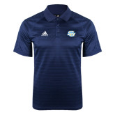 Adidas Climalite Navy Jaquard Select Polo-Interlocking SU