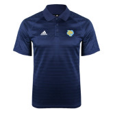 Adidas Climalite Navy Jaquard Select Polo-Jaguar Head