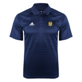 Adidas Climalite Navy Jaquard Select Polo-Fabulous Dancing Dolls Official Mark