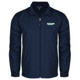 Full Zip Navy Wind Jacket-Southern Jaguars