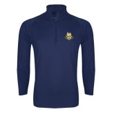 Sport Wick Stretch Navy 1/2 Zip Pullover-The Human Jukebox Official Mark