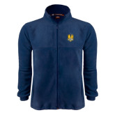 Fleece Full Zip Navy Jacket-Fabulous Dancing Dolls Official Mark