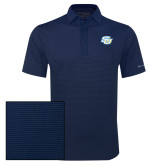 Columbia Navy Omni Wick Sunday Golf Polo-Interlocking SU