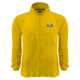 Fleece Full Zip Gold Jacket-The Human Jukebox Official Mark