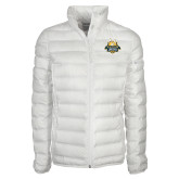 Columbia Lake 22 Ladies White Jacket-The Human Jukebox Official Mark