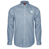 Red House Light Blue Plaid Long Sleeve Shirt-Interlocking SU