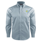 Red House Lt Blue Long Sleeve Shirt-Jaguar Head