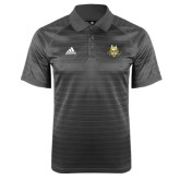Adidas Climalite Charcoal Jaquard Select Polo-The Human Jukebox Official Mark