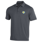 Under Armour Graphite Performance Polo-Jaguar Head