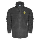 Columbia Full Zip Charcoal Fleece Jacket-The Human Jukebox Official Mark