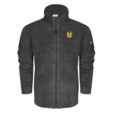 Columbia Full Zip Charcoal Fleece Jacket-Fabulous Dancing Dolls Official Mark