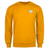 Gold Fleece Crew-Interlocking SU