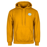 Gold Fleece Hoodie-Interlocking SU