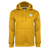 Under Armour Gold Performance Sweats Team Hoodie-Interlocking SU