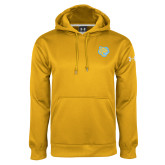 Under Armour Gold Performance Sweats Team Hoodie-Jaguar Head