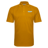 Gold Textured Saddle Shoulder Polo-Southern Jaguars