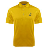 Gold Dry Mesh Polo-Fabulous Dancing Dolls Official Mark