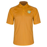 Gold Dri Mesh Pro Polo-Jaguar Head