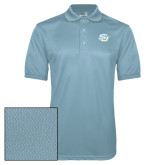 Light Blue Dry Mesh Polo-Interlocking SU