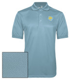 Light Blue Dry Mesh Polo-Jaguar Head