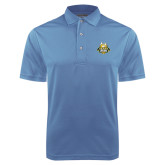 Light Blue Dry Mesh Polo-The Human Jukebox Official Mark