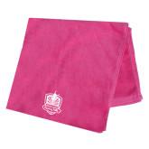 Pink Beach Towel-Fabulous Dancing Dolls Official Mark