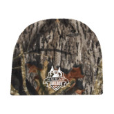 Mossy Oak Camo Fleece Beanie-The Human Jukebox Official Mark