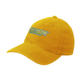 Gold OttoFlex Unstructured Low Profile Hat-Southern Jaguars