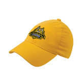 Gold OttoFlex Unstructured Low Profile Hat-The Human Jukebox Official Mark