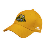 Adidas Gold Structured Adjustable Hat-The Human Jukebox Official Mark
